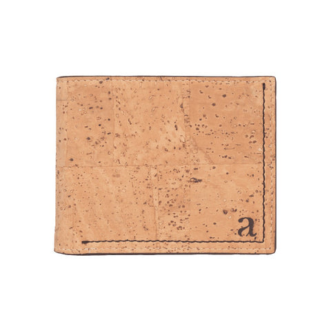 Gale Men's Slim-fold Wallet - Natural