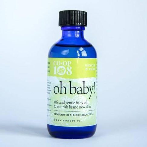 Oh Baby! Baby Oil by CO-OP 108 - Jewel and Lotus