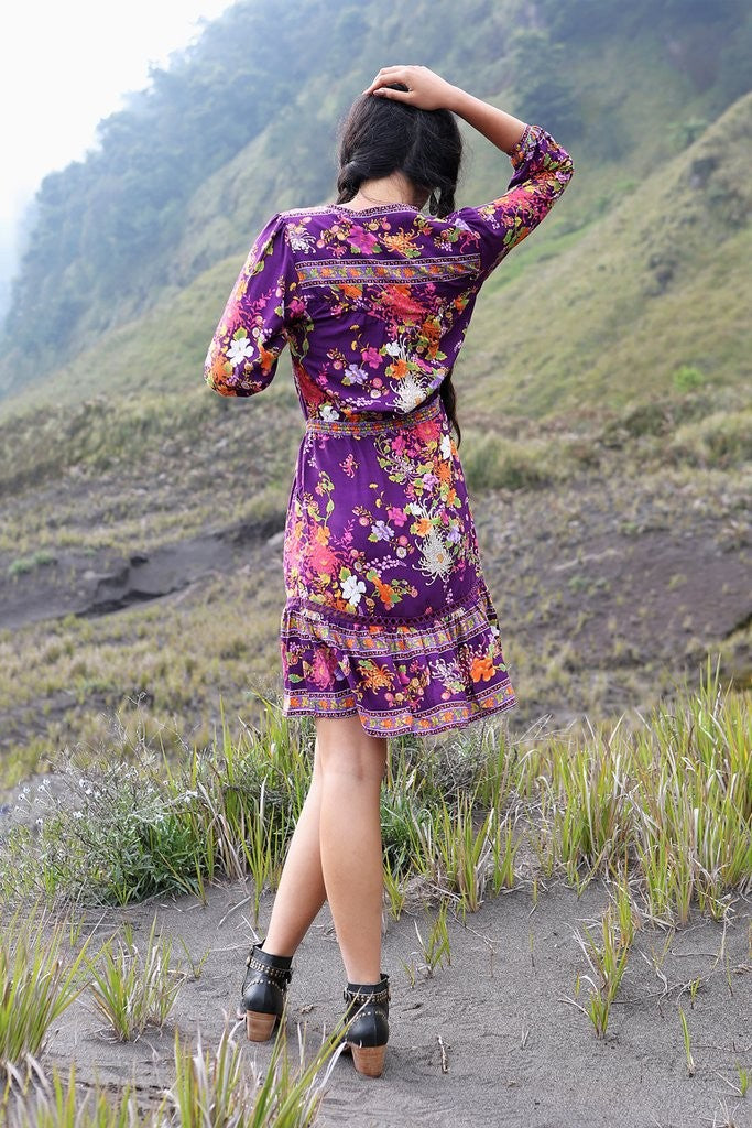 Amara Playdress - Plum by Tulle and Batiste - Jewel and Lotus