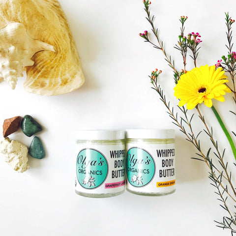 Bundle – Whipped Body Butters by Olga's Organics - Jewel and Lotus