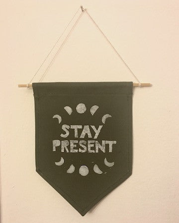 Stay Present Banner