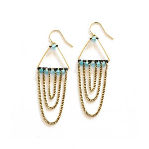 Urmela's Apatite Earrings by The Didi Jewelry Project - Jewel and Lotus
