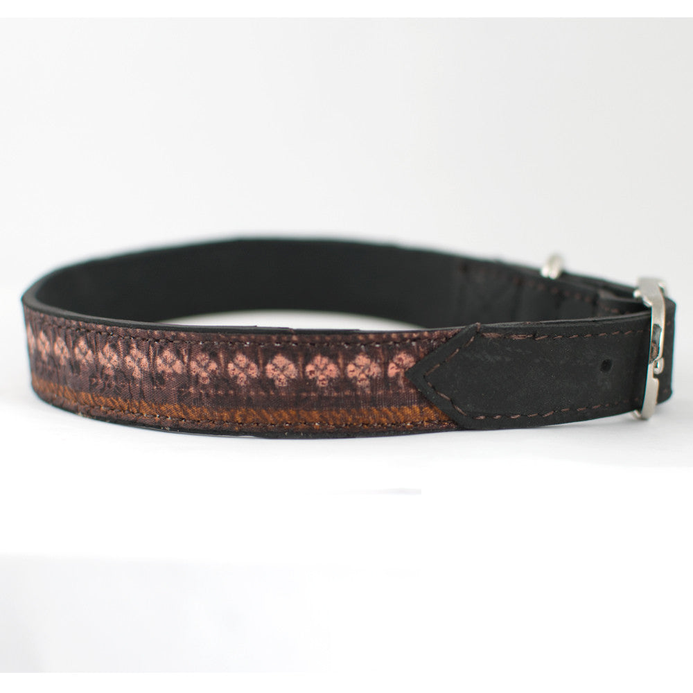 Netrali Dog Collar by Koko Collective - Jewel and Lotus