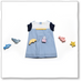 Baby Girl Summer Blue Dress by Brown Boy - Jewel and Lotus