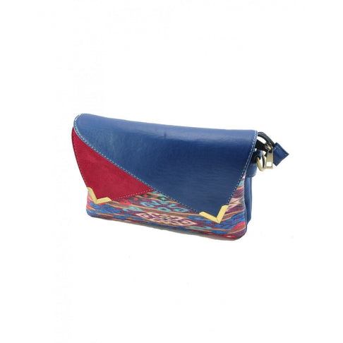 ABBY CLUTCH - BLUE EMERALD - PRE ORDER ONLY by Kisaku - Jewel and Lotus