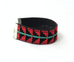Rahaf embroidered leather bracelet