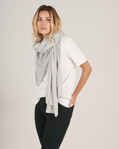 Pima Cotton Maxi Scarf by HOPE Made in the World - Jewel and Lotus