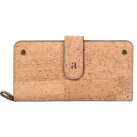 Kim Clutch Wallet - Natural