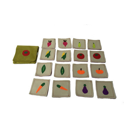 Matching vegetables memory game by Child's Cup Full - Jewel and Lotus