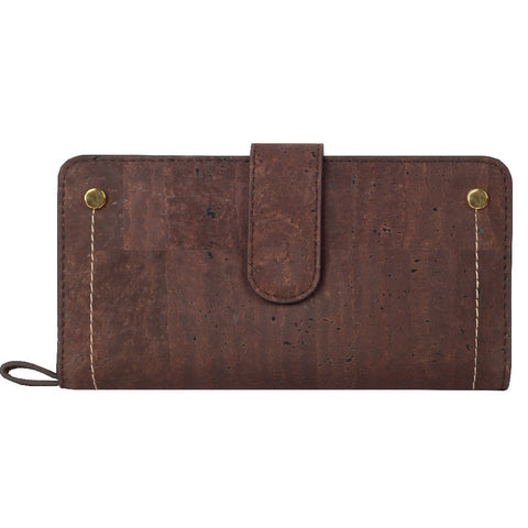 Kim Clutch Wallet - Brown