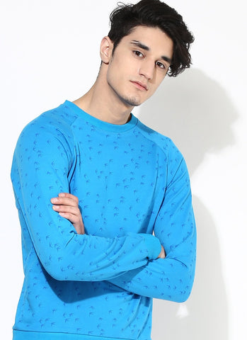 Men's Organic Cotton Sweatshirt With Allover Print