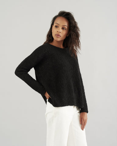 Boxy Pullover Sweater by HOPE Made in the World - Jewel and Lotus