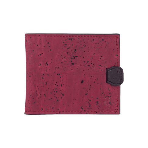 Arden Minimal Wallet - Maroon by Arture - Jewel and Lotus