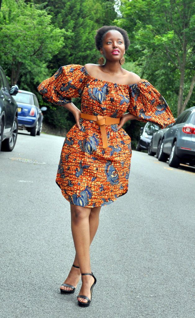 ARETHA Dress by House of Afrika - Jewel and Lotus