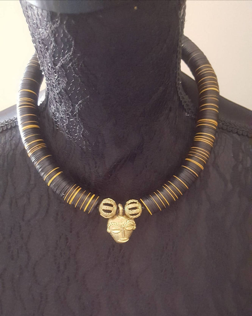 African Beaded Necklace by House of Afrika - Jewel and Lotus