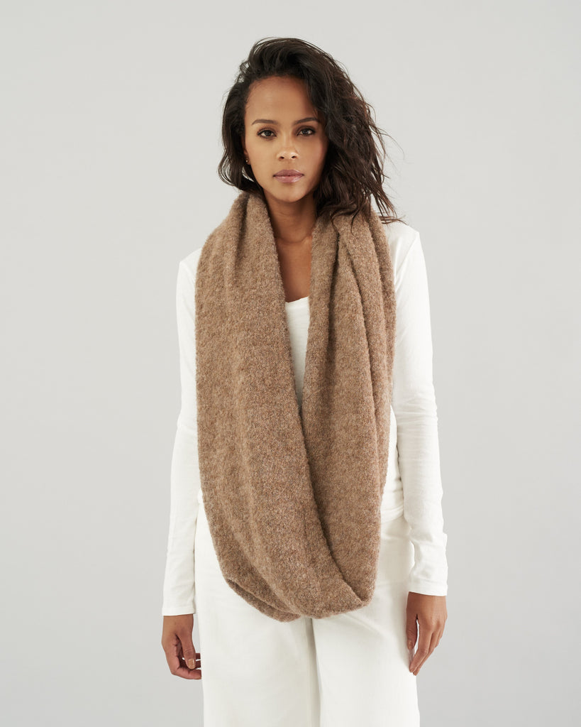 Alpaloop Infinity Scarf by HOPE Made in the World - Jewel and Lotus