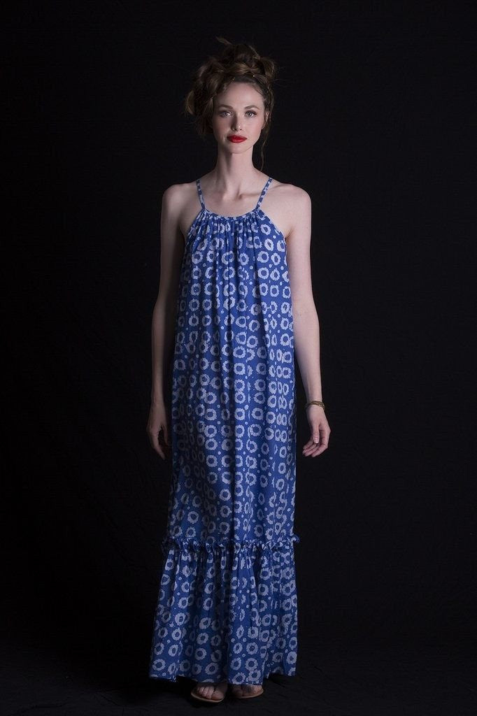 Root Maxi Dress by Fatim Bahh - Jewel and Lotus
