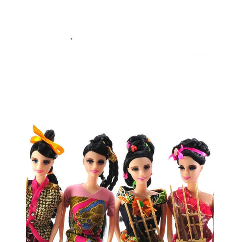 BATIK GIRL DOLL by Kisaku - Jewel and Lotus