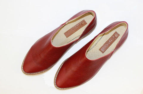 Ausi Slip On In Ruby by Matsidiso - Jewel and Lotus