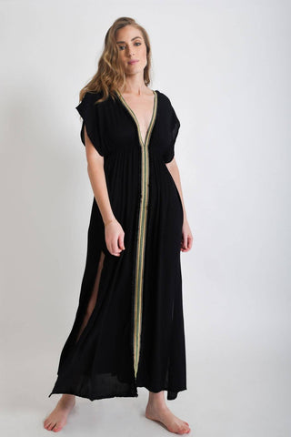 Karina Maxi Dress | Black