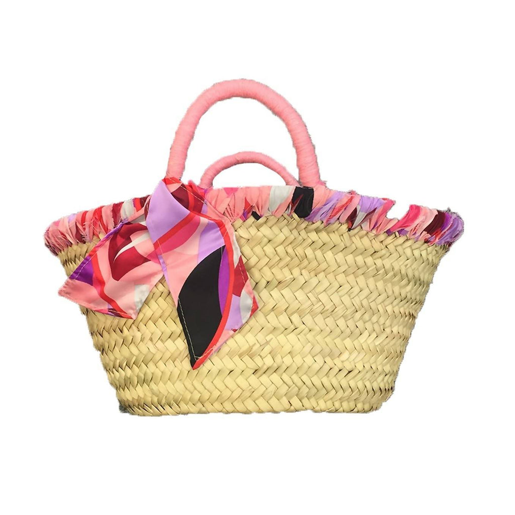 Baby Flamingo Edge Lined Basket
