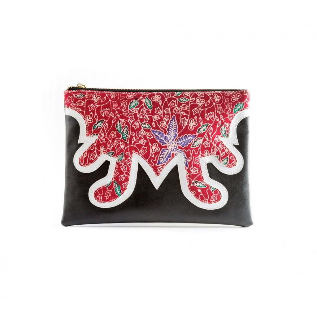 LISA CLUTCH by Kisaku - Jewel and Lotus