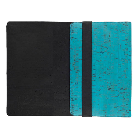 "Skye 13"" Laptop Sleeve - Teal + Black"