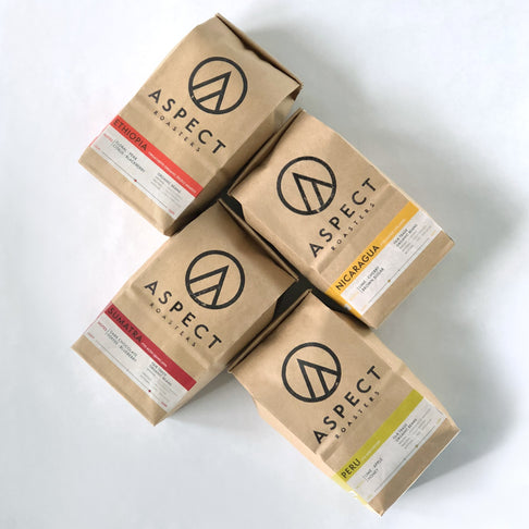 ASPECT TOUR (4 8oz Bags) by Aspect Roasters - Jewel and Lotus