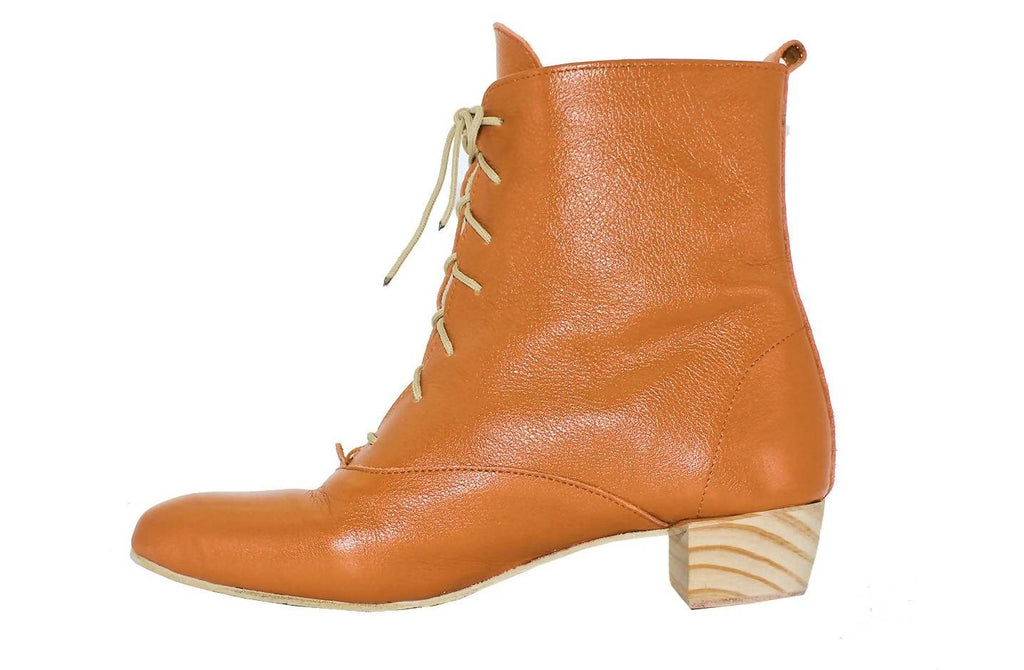 Anneke Boot In Mustard by Matsidiso - Jewel and Lotus