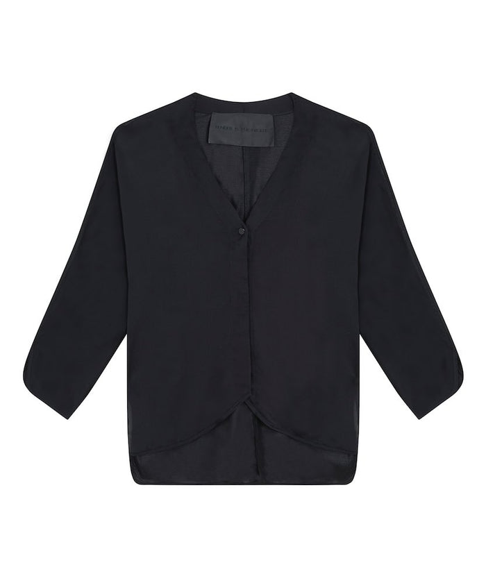 Topsy Pyjama Shirt - Black