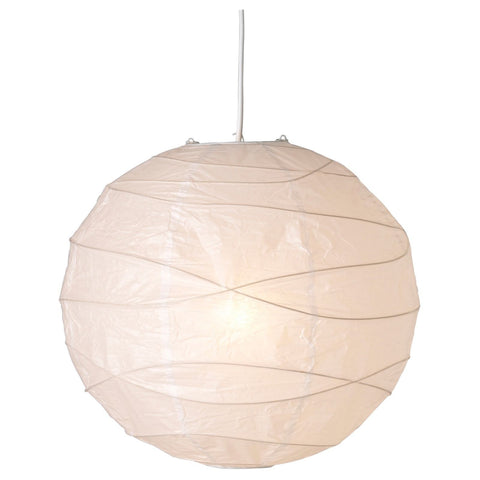 Ikea regolit white rice paper lamp shade for pendant 45cm 269 ikea regolit white rice paper lamp shade for pendants 45cm mozeypictures Choice Image