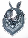 Armenian Alphabet and Eternity Scarf - La Perla Home in Montrose CA