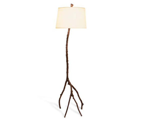ENCH. FOREST FLOOR LAMP COPPER - La Perla Home in Montrose CA