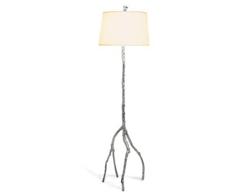 ENCH. FOREST FLR LAMP POLISHED - La Perla Home in Montrose CA