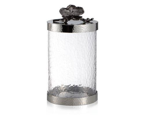 BLACK ORCHID CANISTER MEDIUM - La Perla Home in Montrose CA