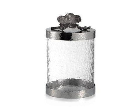BLACK ORCHID CANISTER SMALL - La Perla Home in Montrose CA