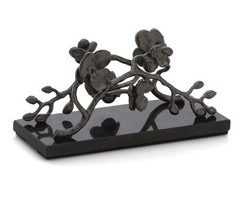 Black Orchid Vertical Napkin Holder - La Perla Home in Montrose CA