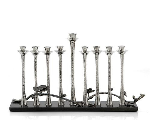 Black Orchid Menorah - La Perla Home in Montrose CA