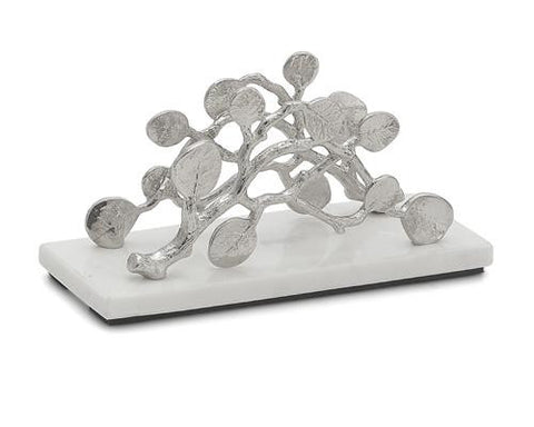 Botanical Leaf Vertical Napkin Holder - La Perla Home in Montrose CA