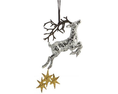 REINDEER ORNAMENT - La Perla Home in Montrose CA