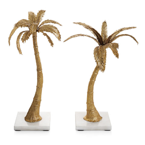 PALM CANDLEHOLDERS - La Perla Home in Montrose CA