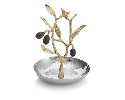 Olive Branch Gold Ring Catch - La Perla Home in Montrose CA