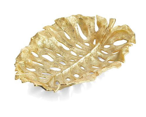 MONSTERA CENTERPIECE GOLD - La Perla Home in Montrose CA