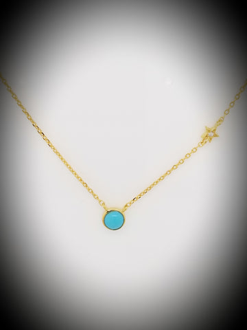 Turquoise Necklace - La Perla Home in Montrose CA
