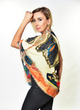 """The Lady in Peridome"" Scarf - La Perla Home in Montrose CA"