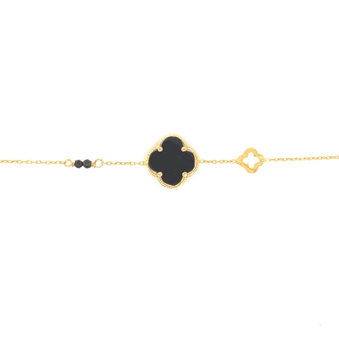 Clover Bracelet Gold Plated