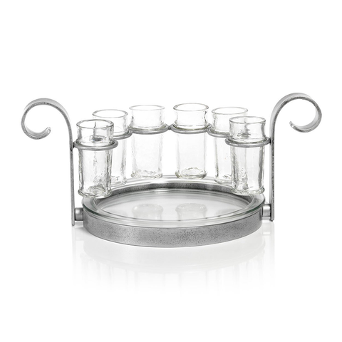 Six Shot Tequila Set - Silver