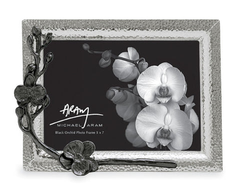 Black Orchid Photo Frame 5x7 - La Perla Home in Montrose CA