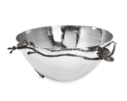 Black Orchid Bowl Large - La Perla Home in Montrose CA
