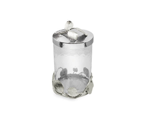 Botanical Leaf Canister Small - La Perla Home in Montrose CA